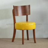 Commercial Restaurant Walnut Color Dining Wood Chair (SP-EC613)