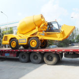 Popular Small Self-Loading Mobile Concrete Mixer with CE