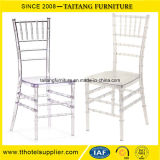 Hotel Furniture Clear PC Wedding Resin Transparent Tiffany Chair