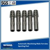 Automatic Machining Male Ferrules for Sporting Part