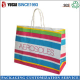 Customized Colorful Printing Kraft Paper Bag with Drawstring