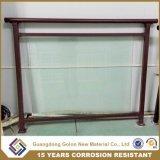 Metal Balcony Glass Railing