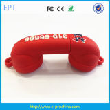 Customized Design Telephone Shape PVC USB Flash Drive (EG642)