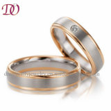 Factory Customized Top Quality Fashion Wedding Ring Set for Man and Women