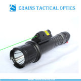 Tactical Quick Start Green Laser Sight and Strobe 500 Lumens CREE T6 LED Flashlight Combo