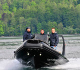 Liya 6.6m Rib Boat Inflatable Boat Fiberglass Rescue Boats