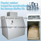 Popular Outdoor Bagged Ice Merchandiser/Ice Storage Bin