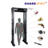 Full Body Scanner 6 Zones High Sensitivity Walk Through Metal Detector