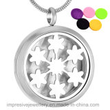 Stainless Steel Material Essential Oil Diffuser Necklace