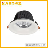 24W COB Anti Glare LED Down Light for High Grade Place Use