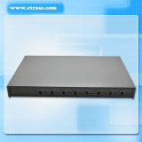 100% Guaranteed 8 Port 64 SIM Card GSM Fixed Wireless Terminal Compatible to Pabx System&VoIP Gateway (Etross-8888)