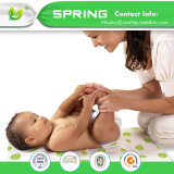 """Mini Size 39*27"""" Quilted Crib Mattress Protector Waterproof"""