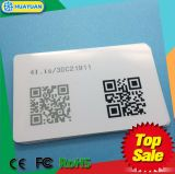 Custom variable Barcode or QR code Printed PVC ntag213 NFC Card
