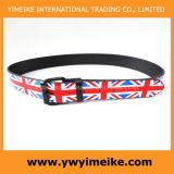 England Flag Printed Fashion Ladies Belts (Lbd052224