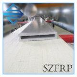 Colorful Reinforcement Plastic Fiberglass FRP Rectangular Tube