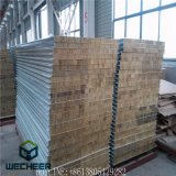 Anti-Fire Wall Panel Heat Insulation Material Rock Wool Sandwich Panel