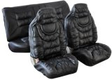 High Quality Luxurious PU Leather Car Seat Cover
