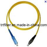 Sc/Upc-FC/Upc Simplex Singlemode Fiber Optic Patch Cord