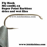 Top Quality Wholesale Price Fly Fishing Barbless Hooks