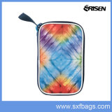 Colorful Stripe Insulated Lunch Bag Square Cooler Bag