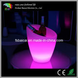 Illuminated Color Changing LED Ice Bucket/Plastic Light up Ice Bucket/RGB Plastic Ice Bucket