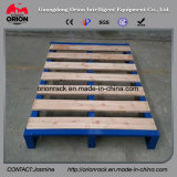 Storage Logistic Steel Wooden Flat Pallet