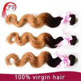 Cheap Virgin Chinese Remy Hair Two Tone Human Hair Weave