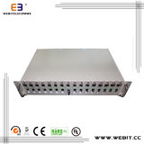 16 Slots Chassis 10/100m or 10/100/1000m Media Converters