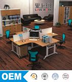 X-Shape Office Table Office Partition Workstation