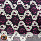 Embroidered Cotton Chemical Lace Fabric (M0502)