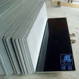 Factory Wholesale Natural Dark Black Granite Stone Tile