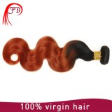 Unprocessed Two Tone Human Hair Weave Mongolian Human Hair