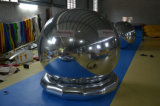 New Round Inflatable Advertising Silver Mirror Ball