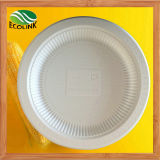 10 Inch Disposable Biodegradable Cornstarch Plate