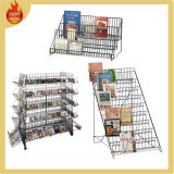 Plastic Coated Metal Wire CD Rack for Store