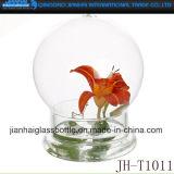 Cup Shape Glass Bottle Art for Decoration