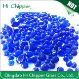 Cobalt Blue Decorative Glass Beads