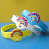 Watch Shape Silicone Wristbands, Church Bracelets
