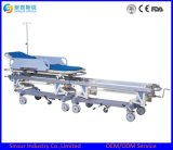 Hot Sale Medical Equipment ICU/OT Use Hospital Connecting Transport Stretcher