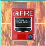 Conventional Fire Alarm System Manual Call Point, Manual Push Button