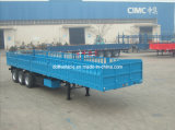40' Cargo Trailer with Three Axles and Drop Side (ZJV9402LB)