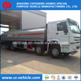 Heavy Duty HOWO 12-Wheels 30000 Liters Oil Tank Truck 35000 Liters Fuel Tank Truck for Sale