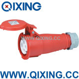IP44 and CE 16A Industrial Waterproof Socket Outlet (QX514)
