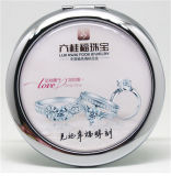 High Quality Stainless Steel Pocket Mirror with Custom Logo