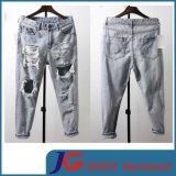 Japan Style Hole Broken Ripped Men Fashion Jeans Trousers (JC3350)