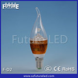 Fork LED Bulb Candle 3W LED Lighting Bulb F-D2