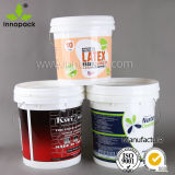 2.5L Small Plastic Pails with Handles and Lids