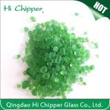 Light Green Terrazzo Glass Beads
