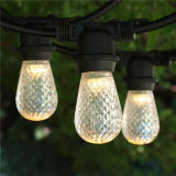 Outdoor Christmas Decoration String Lights E26 with Glass Craft Bulb (E26.12. T2)