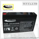 6V AGM Battery-6V 9ah-Rechargeable Lead Acid Battery